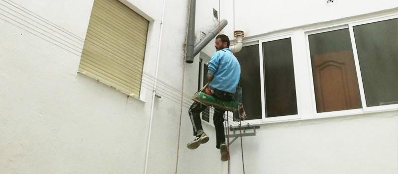 Trabajos verticales en Córdoba